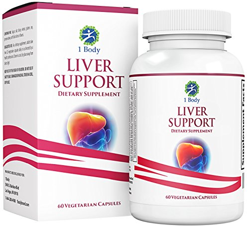 Liver Cleanse & Support Supplement – Milk Thistle Extract (Silymarin), Turmeric Curcumin, Dandelion Root, Artichoke, N Acetyl L Cysteine, Vitamin B12 & more in 2 Vegetarian Capsules