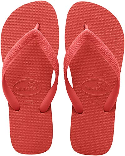 Havaianas Women's Top Flip Flop Sandal,Ruby Red,37/38 BR (7-8 M US Women's/ 6 M US Men's)