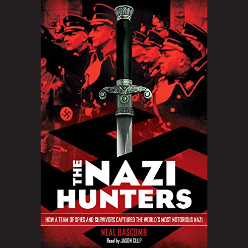 The Nazi Hunters audiobook cover art