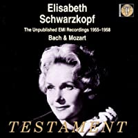 Unpublished Emi Recordings - 1955-1958 by BACH & MOZART (2000-05-09)