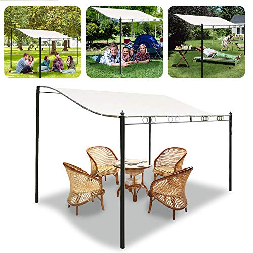 Venus valink 300D Canvas Waterproof Tent Canopy Top Roof Sun Shelter Cloth Outdoor Cover