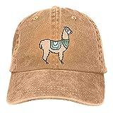 huatongxin Gorra de béisbol de Alpaca con Animales de Perú, Gorra de papá de tamaño Ajustable, Gorras de béisbol Vintage para Hombres y Mujeres