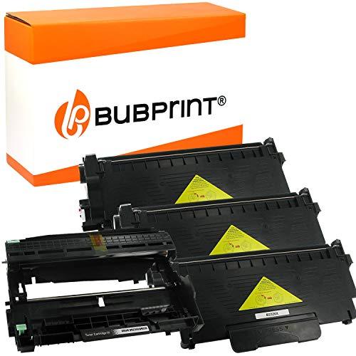 Bubprint Kompatibel Toner und Trommel als Ersatz für Brother TN-2320 DR-2300 für DCP-L2500D DCP-L2520DW DCP-L2540DN DCP-L2560DW HL-L2300D HL-L2340DW HL-L2360DN HL-L2365DW MFC-L2700DN 3er-Pack