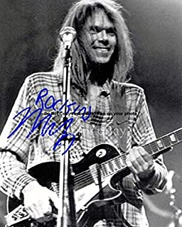 Neil Young Autographed Preprint Signed 11x14 Poster Photo 1
