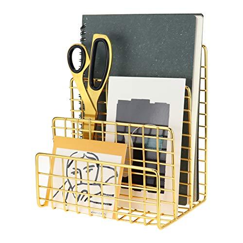 Brief-Organizer Grid Vintage Gold