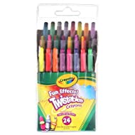 Crayola Twistables Fun Effect Crayons (24 Count)