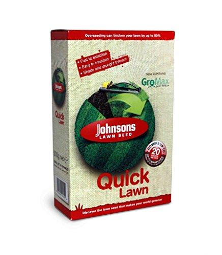Decco Ltd Johnsons 117796 Quick Semences de Gazon 500 g