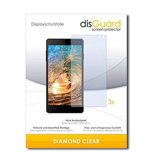 disGuard 3 x Schutzfolie Siswoo R8 Monster Bildschirmschutz Folie DiamondClear unsichtbar