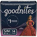 Goodnites, Girls Bedwetting Underwear, S/M, 14 Ct