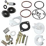 SYCEZHIJIA Piezas de Repuesto para cortacésped Kit de reparación de carburador para Briggs Stratton 696136 796081 690727 698777 699813 Kit de reparación de carburador Multi-Accesorios (Color : White)