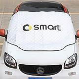 OutdoorKing Auto Sonnenschutz Windschutzscheibe Frontfenster Sonnenschutz Wärmedämmschutz Dekor Für Smart 451 453 Fortwo Forfour Car Modeified Zubehör