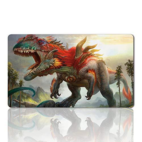 Gishath, Sun's Avatar – Brettspiel MTG Spielmatte Tischmatte Spielmatte Spielmatte Größe 60x35cm Mousepad Spielmatte für TCG Magic The Gathering