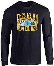 This is an Adventure Minimalist Full Long Sleeve Tee T-Shirt
