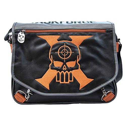 Suicide Squad bolso Taskforce-X DC Comics portafolios negro 35x30x10cm