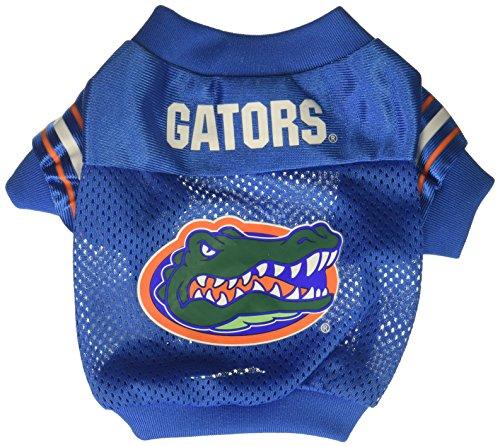 Sporty K9 Collegiate Florida Gators Football Dog Jersey, XX-Small
