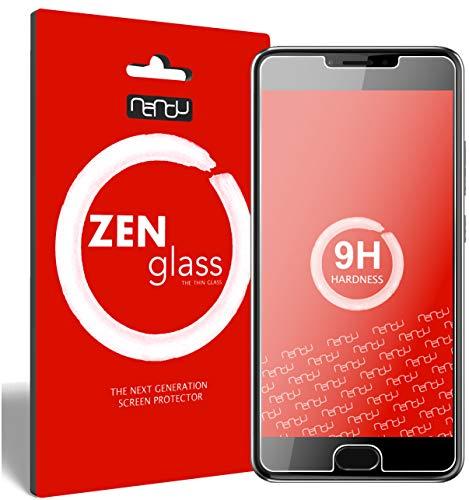 ZenGlass Flexible Glas-Folie kompatibel mit Acer Liquid Z6 Plus Panzerfolie I Bildschirm-Schutzfolie 9H I (Kleiner Als Das Gewölbte Bildschirm)