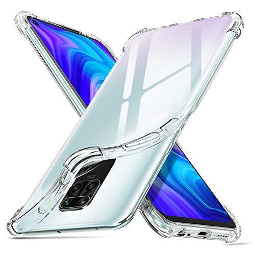 """ORNARTO Cover Xiaomi Redmi Note 9, Custodia Trasparente Assorbimento Morbida Gel TPU Flessibile Ultra Leggere Silicone Ultra Sottile Case per Xiaomi Redmi Note 9(2020) 6,53"""" Chiaro"""