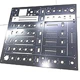 Miwaimao DJM-700 Metal Control Panel Black Faceplate For Pioneer DNB1153 DNB1155