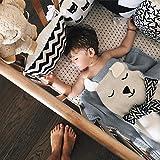 GoMaihe Kuscheldecke/Babydecke/Strickdecke (110×85cm), als Schnuffeltuch oder Taufgeschenke, Personalisierte Geschenke für Baby, Junge und Mädchen, MEHRWEG