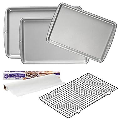 Wilton Essential Cookie Baking Value Set, 5-Piece