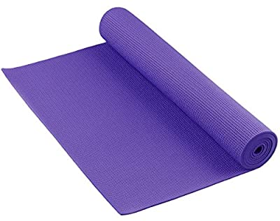 YogaAccessories THE CLEAN Anti-Bacterial Germ and Odor Fighting Yoga Mat by