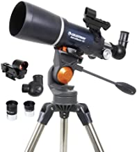Celestron - AstroMaster 80AZS Refractor Telescope - Refractor Telescope for Beginners - Fully-Coated Glass Optics - Adjust...
