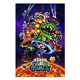 Super Mario Galaxy Poster 3D Video Gaming Prints...