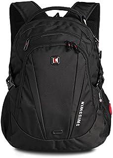 SWISSWIN Swiss Waterproof Business Backpack Travel Backpack College School Backpack Casual Daypack Daily Shoulder Bag SW99...