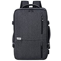Roomy and Efficient-- It has extra zipper compresses pack, so that you can pack your extra item. It meets all of the requirements to travel on an aircraft, and save your money on baggage fees USB Charging Port -- Offering you a more convenient way to...