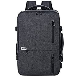 An expandable carry on backpack with charging port represents good value