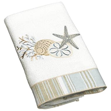 Avanti Linens By The Sea Hand Towel, White