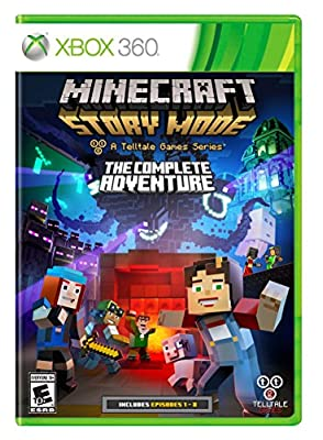 Minecraft: Story Mode- The Complete Adventure - Xbox 360 from Telltale Games