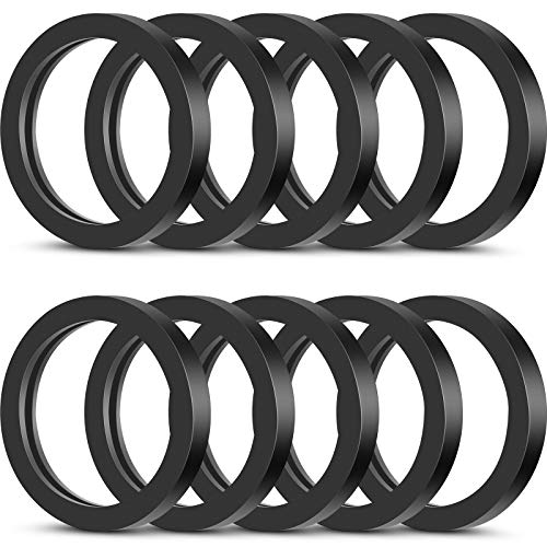 Gas Can Spout Gaskets Rubber Ring Can Gaskets Fuel Washer Seals Spout Gasket Sealing Rings Replacement Gas Gaskets Compatible with Most Gas Can Spout (10 Pieces)