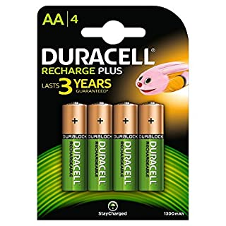 Duracell Stay Charged Entry Battery AA 1300MaH (B000QW2LBS) | Amazon price tracker / tracking, Amazon price history charts, Amazon price watches, Amazon price drop alerts