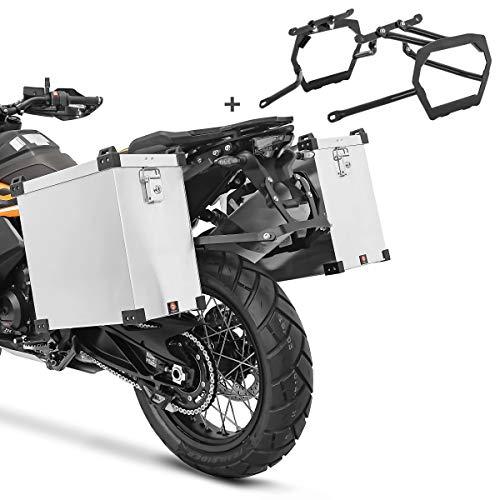 Maletas Laterales Aluminio para KTM 1290 Super Adventure T 2017 40l Soporte