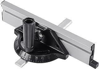 Miter Gauge Fence System Träbearbetningsverktyg Skjut block med vinkelplatta linjal DIY Accessiories för bordsåg (svart)
