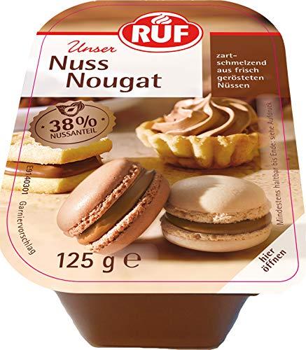 RUF Nuss Nougat mit 38% Haselnüssen, 6er Pack (6 x 125 g)