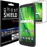 TECHGEAR [3 Pack] Protection Écran pour Moto G6 Play [ghostSHIELD] Film de Protection Souple en TPU...