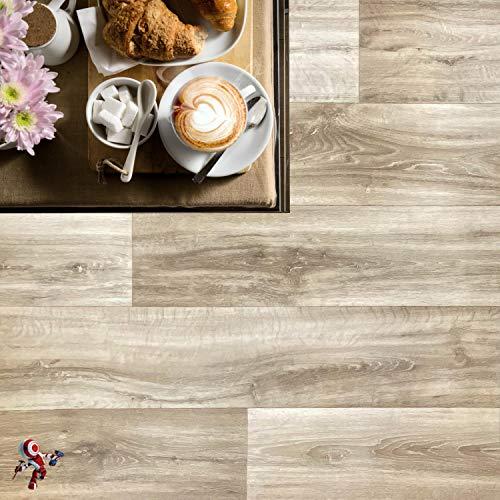 Pavimento in pvc effetto legno Altezza 100 cm...