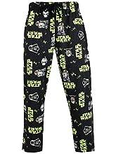 Star Wars Pantalones de Pijama para Hombre Stormtrooper y Darth Vader Negro XX-Large