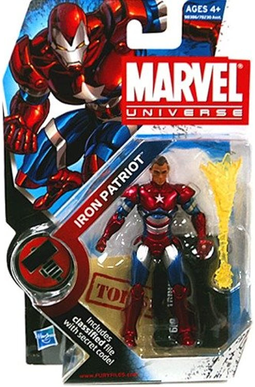 Marvel Universe 3 3 4  Iron Patriot Action Figure Norman Osborne Variant