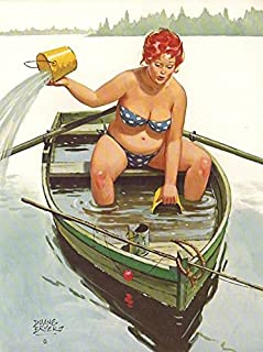Hilda #79 Plus Size Pin Up Vintage Reproduction Print 11 x 17