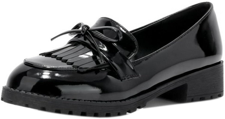 KemeKiss Women Fashion Chunky Heels Pumps Tassel