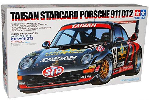 Tamiyia Porsche 911 993 GT2 Taisan Starcard 24175 Kit Bausatz 1/24 Modell Auto Modell Auto