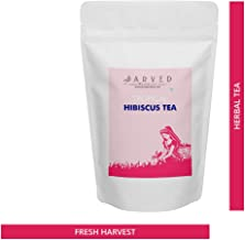 Jarved Organic Hibiscus Tea: Herbal Tea with 100% Natural Product (200g, Makes 100 Cups): Farm to Cup