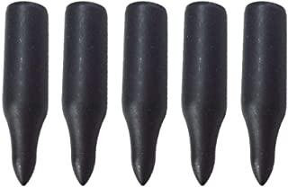 MILAEM 12 Pcs 5/16 Archery Glue on Field Points Archery Bullet Points Targeting Practice Tips for 8 mm Wood Bamboo Arrow