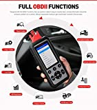 Autel MaxiDiag MD806 Herramienta de Diagnóstico del Automóvil para Motor Transmisión y Servicios ABS SRS EPB SAS DPF BMS Restablecimiento de Aceite Ajuste de aceleración con Funciones Completas OBD2