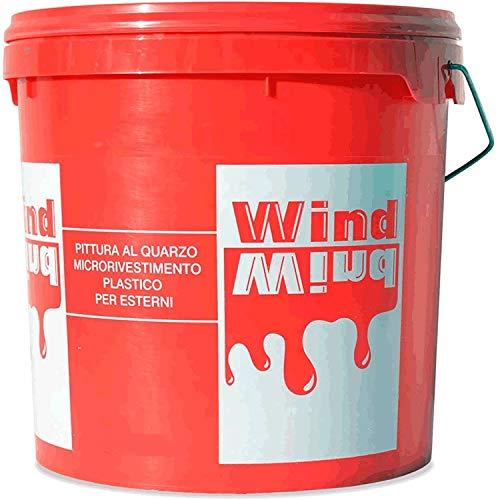 ICEM Quarzo Wind LT.5 Pittura al Quarzo per Esterni Bianca