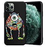 KABIOU - Custodia per iPhone 12 12Pro Max 12mini 11 Pro Max 7 8 Plus X XR XS Max Tattoo Cartoon Soft TPU Cover per iPhone 12 o 12Pro