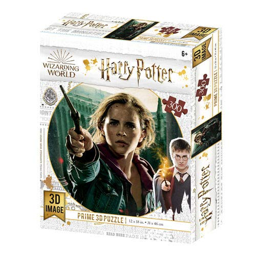 Prime 3D-Redstring-Puzzle lenticular Harry Potter Hermione G